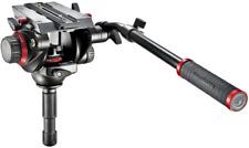 Manfrotto 504HD Rotule Vidéo Fluide avec Demi-Boule de 75 mm - Noire