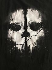 CALL OF DUTY Ghosts OFFICAL PROMO LAUNCH T-SHIRT Black XL RARE CHRISTMAS GIFT