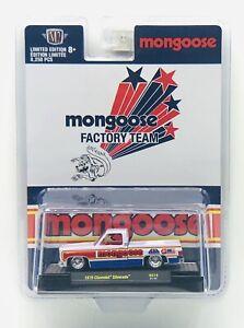 M2 Machines 1979 Chevrolet Silverado Mongoose Square Body Truck Hobby Exclusive