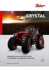 Zetor Crystal 06 / 2015 catalogue brochure tracteur Traktor tractor