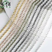 Wholesale 5meters Open Link Iron Metal Cable Chain 3x2mm Links DIY Jewelry