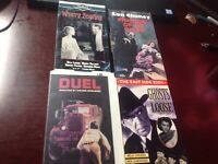 Classic Horror Vhs 4 Lot, White Zombie, Phantom, East Side Kids, Duel, See Pics