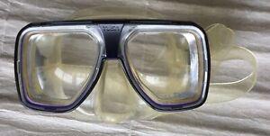 Vintage TUSA Liberator Plus SCUBA Mask w/ +6.5 RX Lenses - Diving Snorkeling