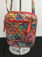 Vera Bradley PAISLEY In PARADISE Mini HIPSTER Wallet CROSSBODY Purse BAG  NWT