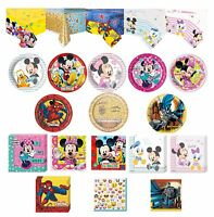 Disney Kids Tableware Decorations Napkins Paper Plates Birthday Party Supplies