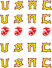 Usmc / Marine Corps Waterslide Nail Decals/Nail Art