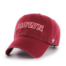 Brand New Brown Bears Clean Up Hat Cap Adjustable 47 Brand Red