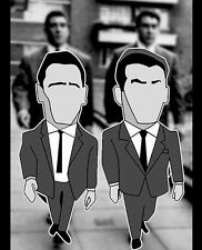 The Kray Brothers Legend Pin Badge Set, A Guy Called Minty & Casual Connoisseur.