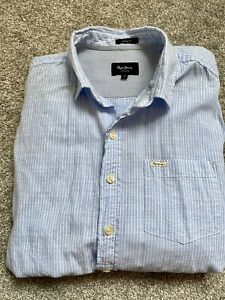 Pepe Jeans Long Sleeve Casual Shirts Tops For Men For Sale Ebay