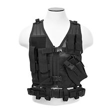 NcStar CTVC2916B Tactical Vest Childrens - Small / XS-S - Black