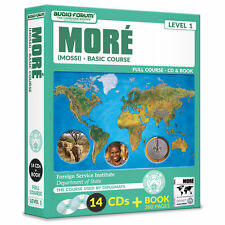 FSI: More (Mossi) Basic Course (14 CDs/Book)  by Foreign Service Institute *NEW*
