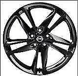 "Nissan Qashqai (2014 -2017) 19"" Black Alloy Wheel & Caps  Ibiscus KE4094C400BZ"