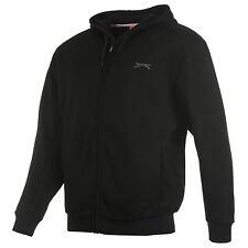 Sweat-shirt à Capuche SLAZENGER Full Zip Small NEUF / Hoody Black Size S NEW