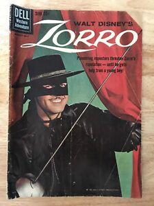Walt Disney's Zorro Comic Dell Comics Western Adventure No. 9 1960
