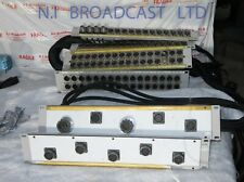 2x multicore panel and 4x tailboard audio paenls from OBvan