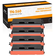 4PK High Yield TN560 Toner Compatible for Brother MFC-8890DW 8680DN DCP-8890DW