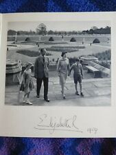 Queen Elizabeth II - wonderful hand signed photo