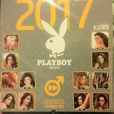 2017 PLAYBOY CALENDAR MEXICAN EDITION CALENDARIO / ANUARIO PLAYBOY MEXICO, NEW
