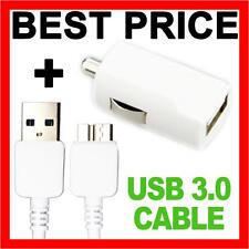 Fast USB 3.0 Data Cable Car Charger Adapter for Samsung Galaxy S5 I9600 G900F