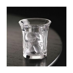 GENUINE LALIQUE Enfants Liquor Shot Glass Crystal Clear New (1340000)