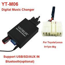 Yatour Car Digital Music CD Changer SD MP3 for for Toyota/Lexus Big 5+7 Lexus