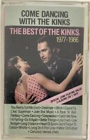 The Kinks Cassette Tape Come Dancing With Best of 1977-1986 Arista Dolby TESTED