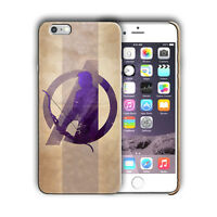 Super Hero Hawkeye Iphone 4 4s 5 5s SE 6 6s 7 8 X XS Max XR 11 Pro Plus Case n4