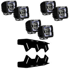 RIGID LED Fog Light Kit Radiance WHITE Back Light for 17 18 Ford F150 Raptor