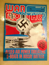WAR MONTHLY - No.27, June 1976 ALLIED AIR POWER THREATENS U-BOAT IN BISCAY