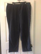 DENIM & CO Active Regular Fleece Pants w/ Pockets CHARCOAL 1X