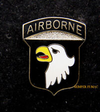 US ARMY 101ST AIRBORNE DIV SCREAMING EAGLES HAT PIN Fort Campbell AIR ASSULAT