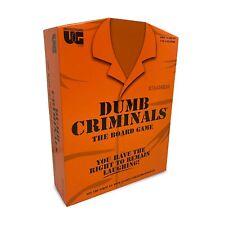 University Games Dumb Criminal Board Game Ug01442 From Tates Toyworld