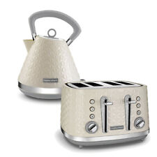 Kettle and Toaster 4 Slice Cream Morphy Richards Vector Kitchen Sale Cheap Buy