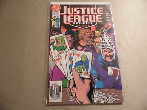 Justice League America #43 (DC 1990) Free Domestic Shipping