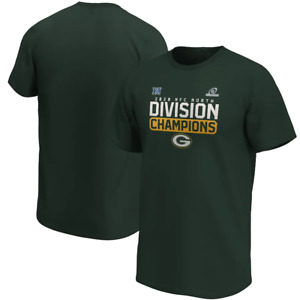 Green Bay Packers T-Shirt Men's NFL Flying High Division Champions T-Shirt - New
