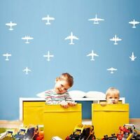 Aircraft Art Decor Vinyl DIY Wall Stickers Nursery Kids Room Home Decor Decals