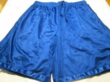 Sport Short 100% Polyester 2 pocket Small Royal Blue Heavy Weight Elastic