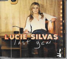 LUCIE SILVAS - Last year PROMO CD SINGLE 1TR Europe 2006 (Mercury)