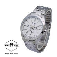 Casio Men's Standard Analog Multi Hand Watch MTPSW300D-7A MTP-SW300D-7A