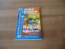 N64 Nintendo Double Game Guide Duke Nukem Zero Hour + Star Wars Rogue Squadron
