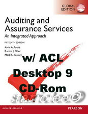 NEW 3 Days 2 AUS Auditing and Assurance Services 15E + ACL CD Arens 15th Edition