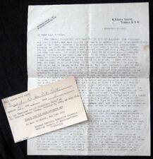1947 COMMUNIST PARTY GREAT BRITAIN LETTER SIGNED MOLLY PRITT ACTIVIST CONTENT