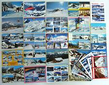 ÖSTERREICH Lot 30 x Postkarten SKI-Gebiete, Winterurlaub Orte, Lifte, Berge etc.
