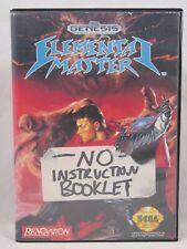 Elemental Master Case (SEGA Genesis) Authentic BOX ONLY
