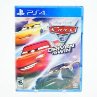Cars 3 Driven to Win: Playstation 4 [Brand New] PS4