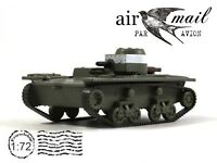 T-38 Soviet Amphibious Scout Tank 1941 Year 1/72 Scale Green Diecast Model WWII