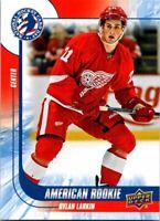2016 Upper Deck National Hockey Day American Rookie Card #7 Dylan Larkin