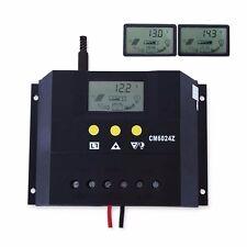 60A Solar Laderegler 12V 24V Solarpanel Controller Regulator Solarregler LCD FE