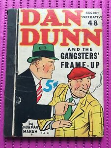 DAN DUNN Special Operative #48 GANGSTERS' FRAME-UP, WHITMAN 1937