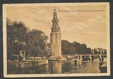 Amsterdam  Oude Schans met Montelbaantoren